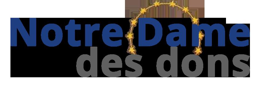 Logo Notre-Dame des dons